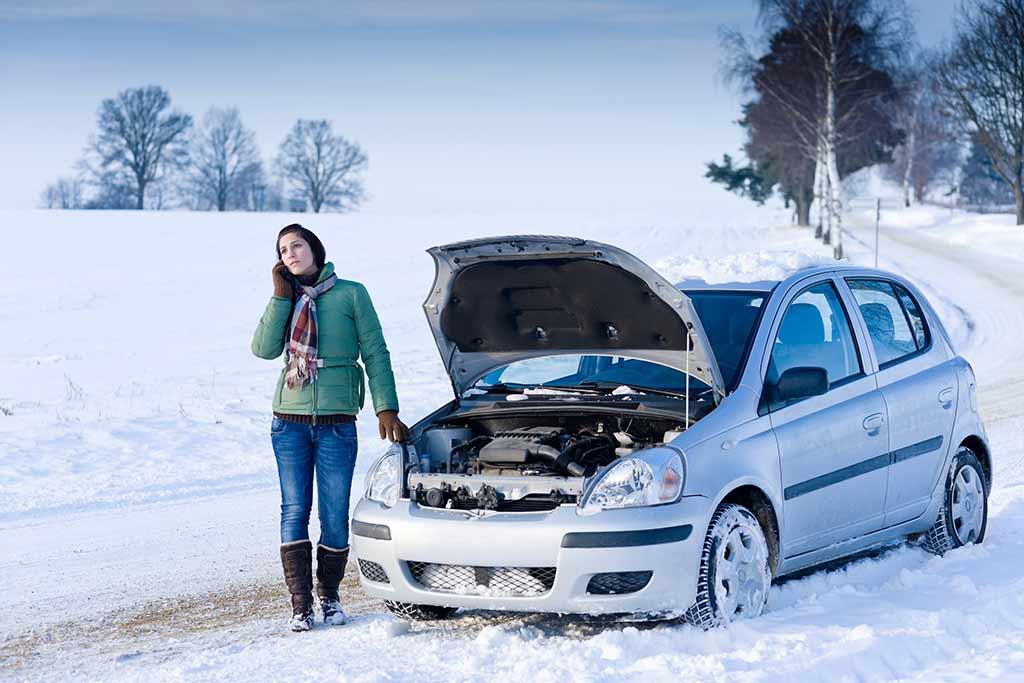 Kanada'da arabanızı kış şartlarına hazırlayın
