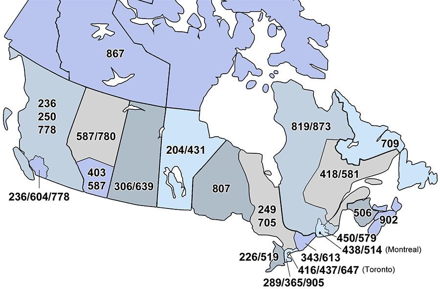 Kanada Telefon Kodu