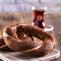 Simit the big Bagel