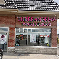 Three Angelz Unisex Hair Salon